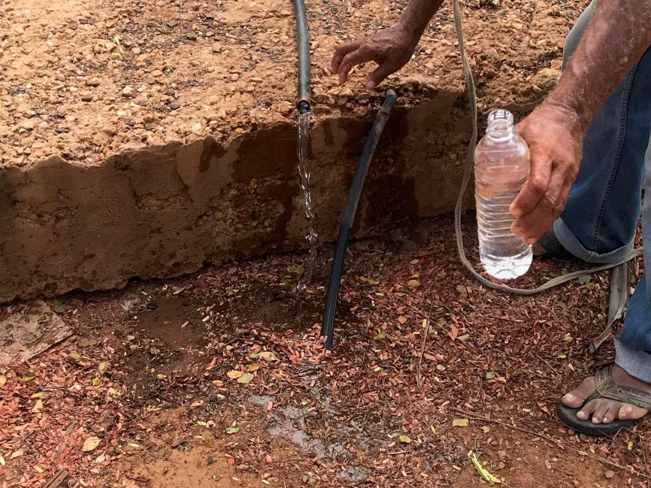 Er is veel brak water van goede kwaliteit beschibaar op Bonaire.