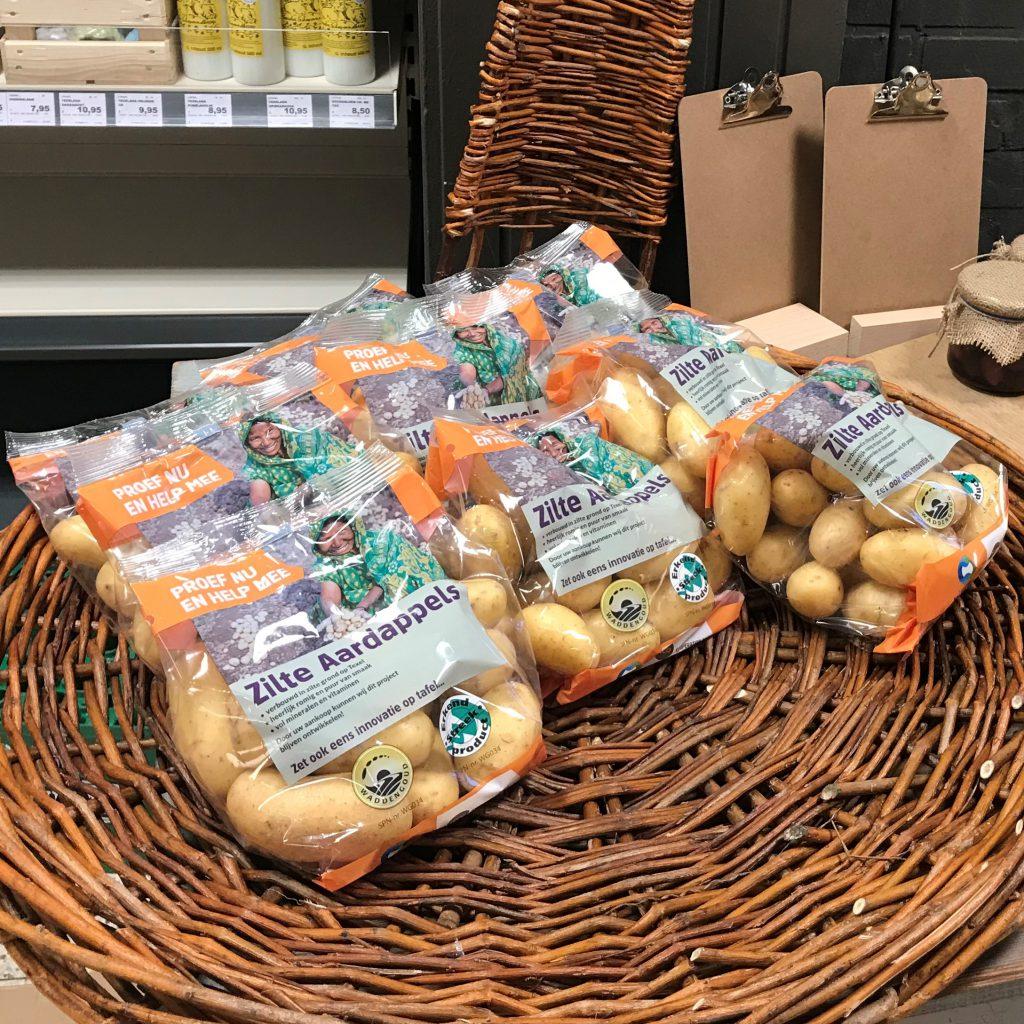 Zilte aardappels actie Jumbo 2019
