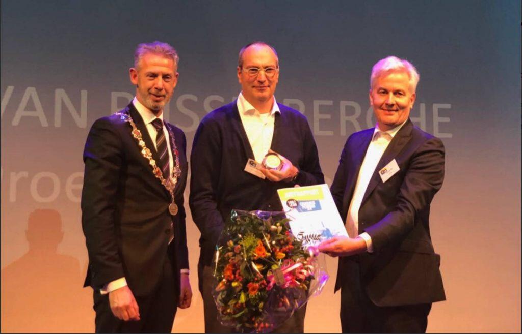 Marc van Rijsselberghe wins Cruquius Medal for circular economy