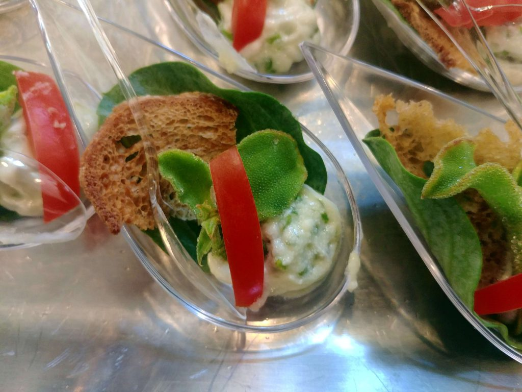 """Sheep cheese, ice-plant, oyster leaf and the """"salty"""" tomato"""